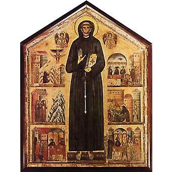 St Francis and Scenes from his,BERLINGHIERI Bonaventura,50x40cm
