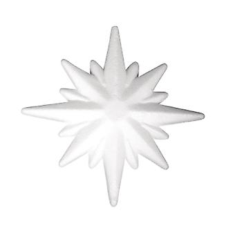 105mm Polystyrene Star Shape to Decorate | Styrofoam Shapes for Crafts