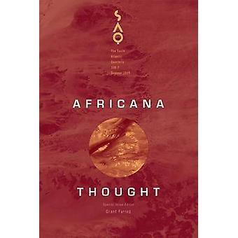 Africana Gedanke von Grant Farred - 9780822367079 Buch