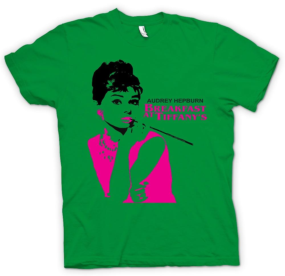 Mens t-shirt-Audrey Hepburn Tiffanys - film