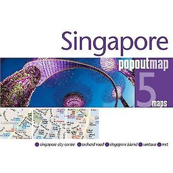 Singapore PopOut Map by Singapore PopOut Map - 9781910218679 Book