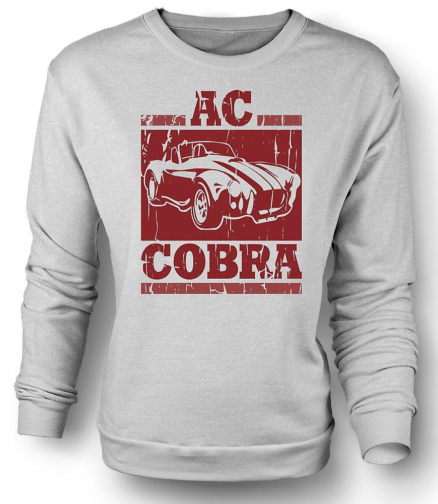 Mens Sweatshirt AC Cobra Super bil