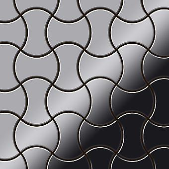 Metal mosaic Stainless Steel ALLOY Infinit-S-S-M