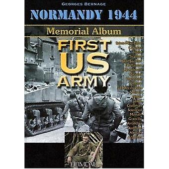 1st US Army by Dominique Francois - Georges Bernage - 9782840481911 B