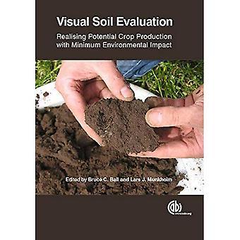 Visuella jord utvärdering: Förverkliga potentiella växtodling med minsta miljöpåverkan