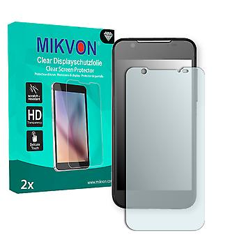 ZTE V983 Screen Protector - Mikvon Clear (Retail Package with accessories)