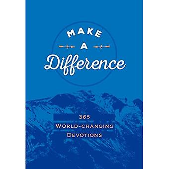 Make a Difference:365 World-Changing Devotions