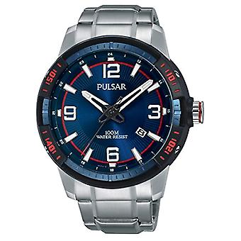 Pulsar Analog Unisex with metal plated stainless steel PS9477X1