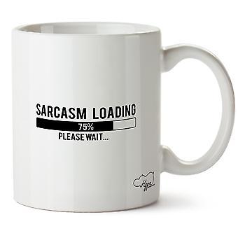 Hippowarehouse Sarcasm Loading Please Wait Printed Mug Cup Ceramic 10oz
