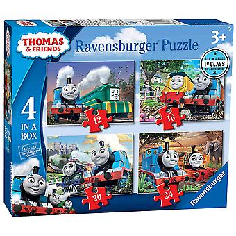Thomas & Friends Big World Adventures 4 in a Box Jigsaws