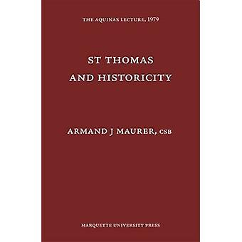St Thomas and Historicity - 9780874621440 Book