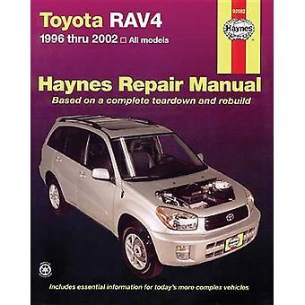 Toyota RAV4 Automotive Repair Manual - 1996-12 (2nd Revised edition) b