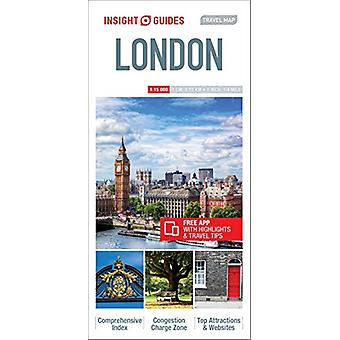 Insight Guides - Travel Map London by APA Publications Limited - 97817