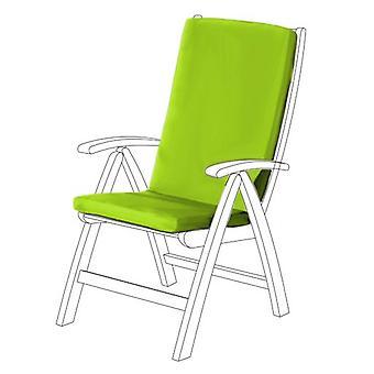 Gardenista® cojín de asiento HIGHBACK resistente al agua de cal para silla de jardín, paquete de 6