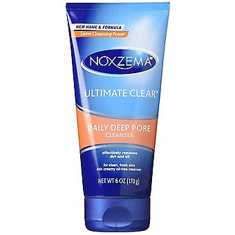 Noxzema ultimate clear daily deep pore cleanser, 6 oz