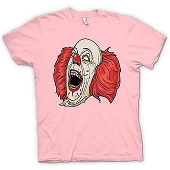 Barn T-shirt - Stephen King's det Pennywise porträtt