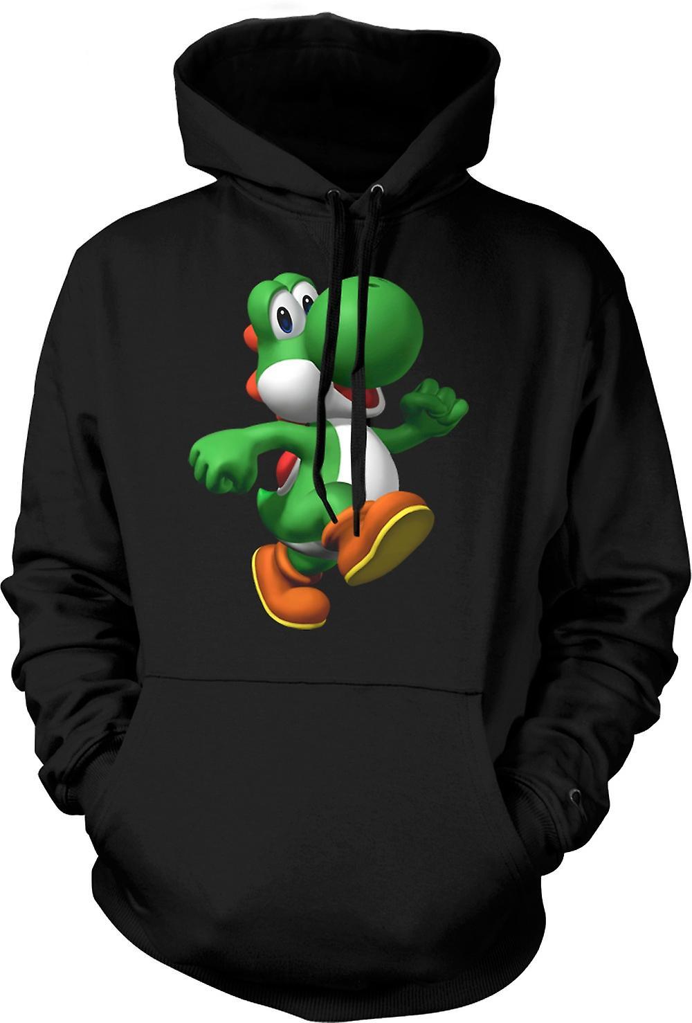 Mens Hoodie - ik hou van Yoshi - Gamer