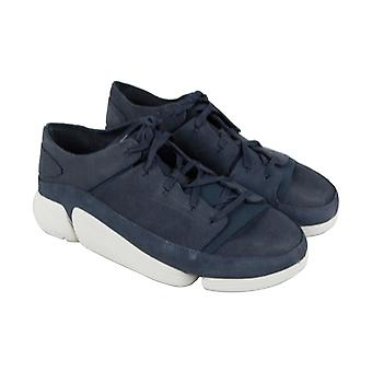 Clarks Trigenic evo Uomo Blu Comfort Casual Fashion Sneakers Scarpe