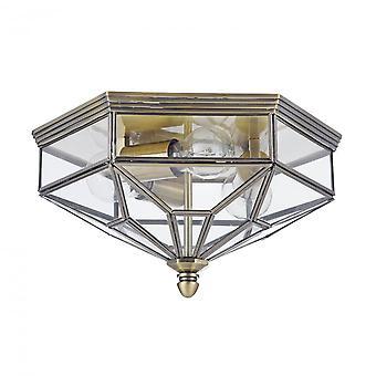Maytoni Lighting Zeil House Ceiling Lamp, Bronze