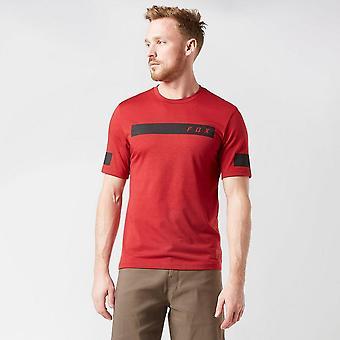 New Fox Men's Ranger Drirelease® Short Sleeve Bar Jersey Red
