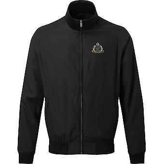 Suffolk Regiment - Licensed British Army Embroidered Harrington Jacket