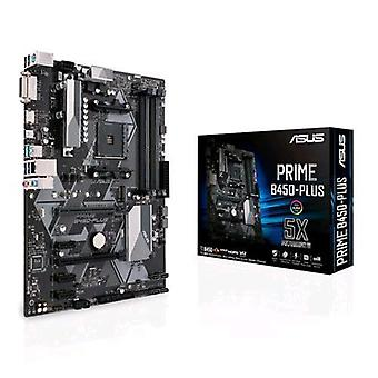 Asus prime b450-plus motherboard form atx chipset amd b450 socket am4
