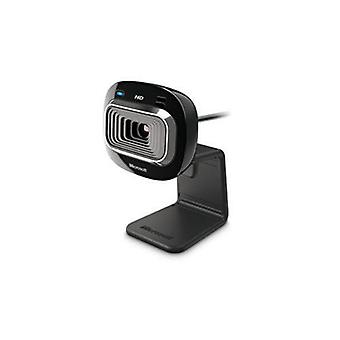 Microsoft hd-3000 lifecam webcam 720p 4x zoom digitale con microfono integrato usb nero