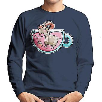 Goat Tea Men's Sweatshirt