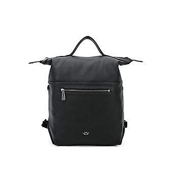 Fritzi aus Preussen Harper Mini - Black Women's Backpack Bags (Black) 11x27x34 cm (W x H L)