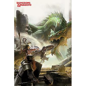 Dungeons & Dragons Adventure Maxi Poster 61x91.5cm