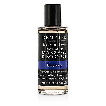 Demeter arándano masaje y aceite corporal - 60ml / 2oz