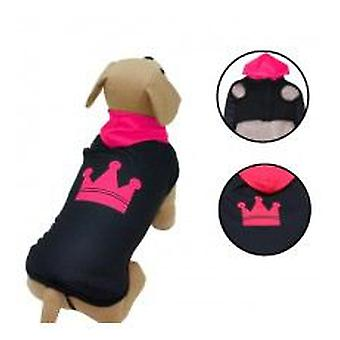 Yagu Wrap Felpado C / Corona Hoodie Fuchsia (Dogs , Dog Clothes , Coats and capes)