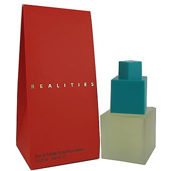 Realities for Women by Liz Claiborne 3.4 oz EDT Spray