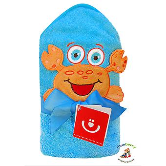 BlueberryShop Embroidered COTTON HOODED Bath Pool Beach TOWEL Baby Kid Todler Gift (30