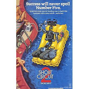 Short Circuit 2 Movie Poster (11 x 17)