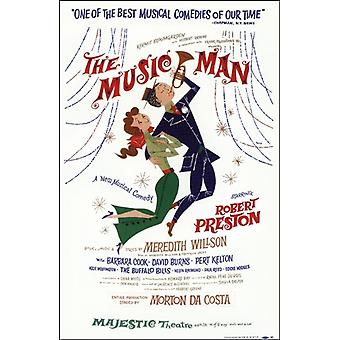 The (Broadway) Music Man Movie Poster (11 x 17)