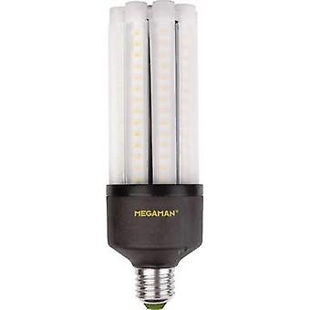 LED Megaman 230 V E27 35 W = 245 W Warm white EEC: A+ Rod (Ø x L) 63 mm x 188 mm 1 pc(s)