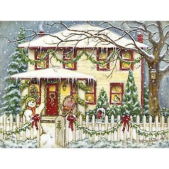 Home for the Holidays Poster Print von Gwendolyn Babbitt
