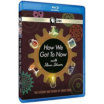 How We Got to Now with Steven Johnson [BLU-RAY] USA import