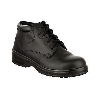Amblers FS130C dames veiligheid schoenen Lighweight lederen vrouwelijke veiligheidsschoenen