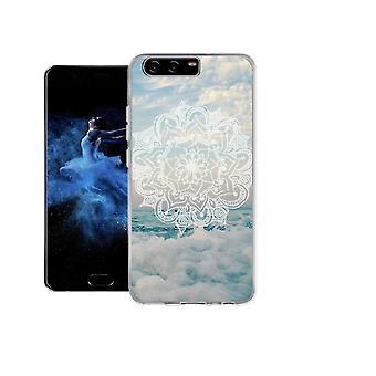 Mandala vågor täcka för Huawei P10 Plus