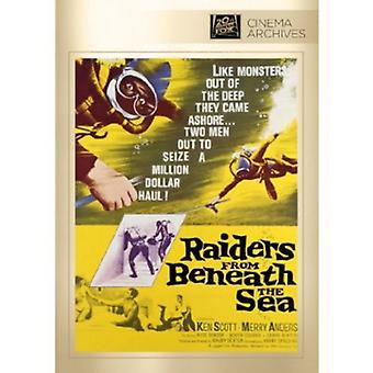 Raiders From Beneath the Sea [DVD] USA import