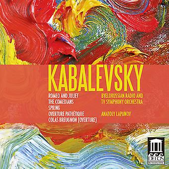 D. Kabalevsky - Kabalevsky: Romeo and Juliet; the Comedians; Overtures [CD] USA import