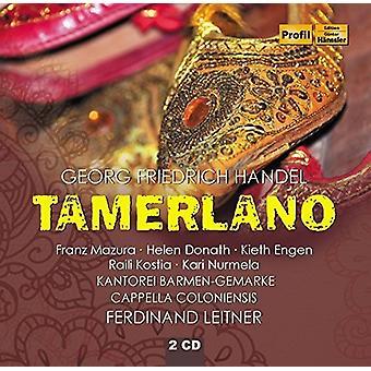 Händel / Leitner / Cappella Coloniensis - Tamerlano [CD] USA import