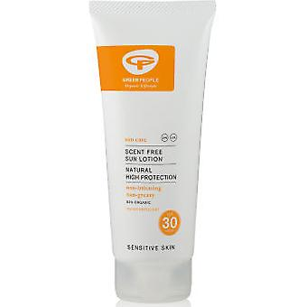 Green People unscented sunscreen SPF30 travel (Beauty , Sun protection , Sunscreens)