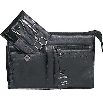 Sonnenschein Germany Travel Leather Toiletry Bag