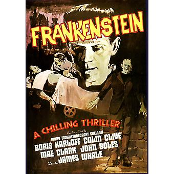 Frankenstein Boris Karloff 1931 Movie Poster Masterprint
