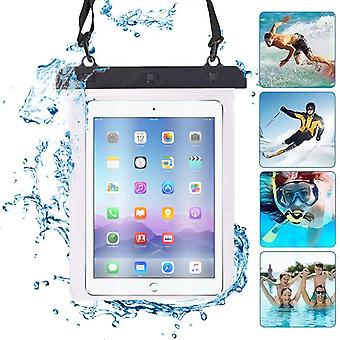 ONX3 (Black) Apple iPad (4th Gen) Universal Transparent Tablet, Passport, Money Underwater Waterproof Protection Dry Bag, Case, Cover