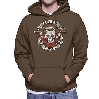 Pee Wee Herman ensamvarg Rebel Mäns Hooded Sweatshirt