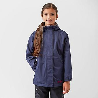 New Peter Storm Girl's Wendy Ii Waterproof Jacket Navy